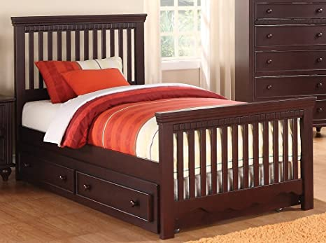 Twin Bed with Spindle Headboard and Footboard By Coaster Furniture