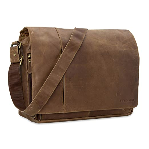 STILORD Notebook Ledertasche