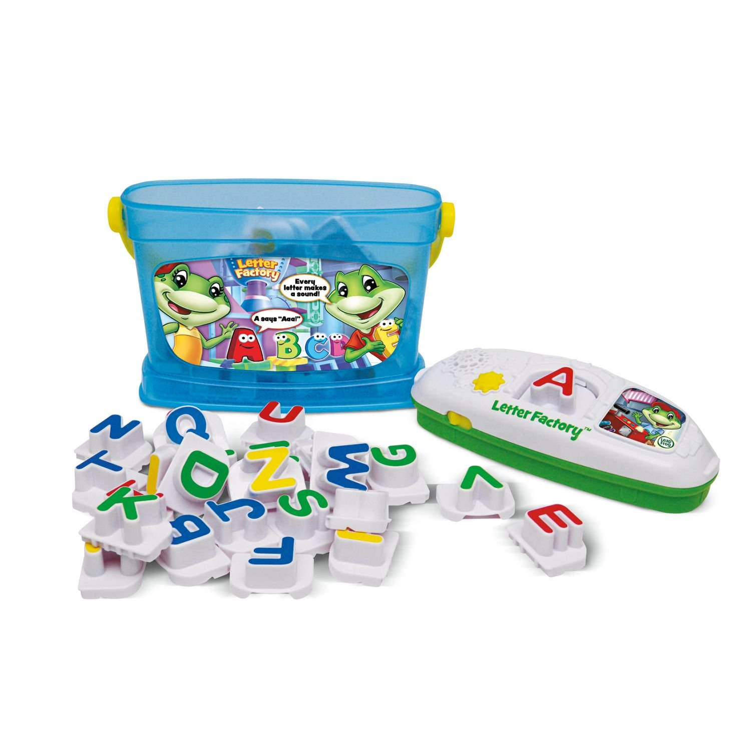 of the leapfrog letter factory phonics includes the 26 letters ...
