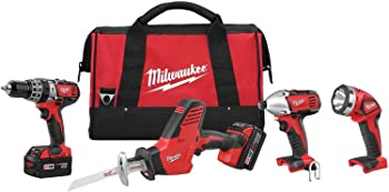 Milwaukee M18 Cordless Combo Kit