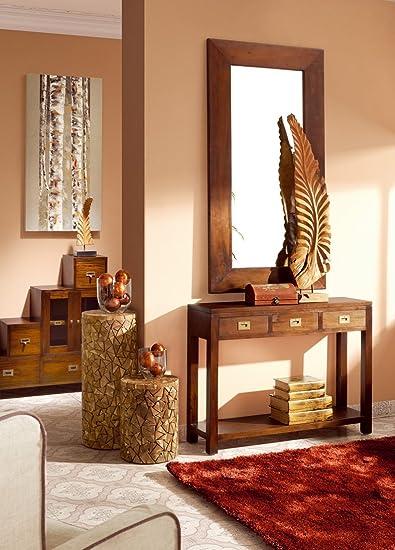 Consolas Estilo Colonial : Colección FLAMINGO 3 cajones de 110x80x30cms.