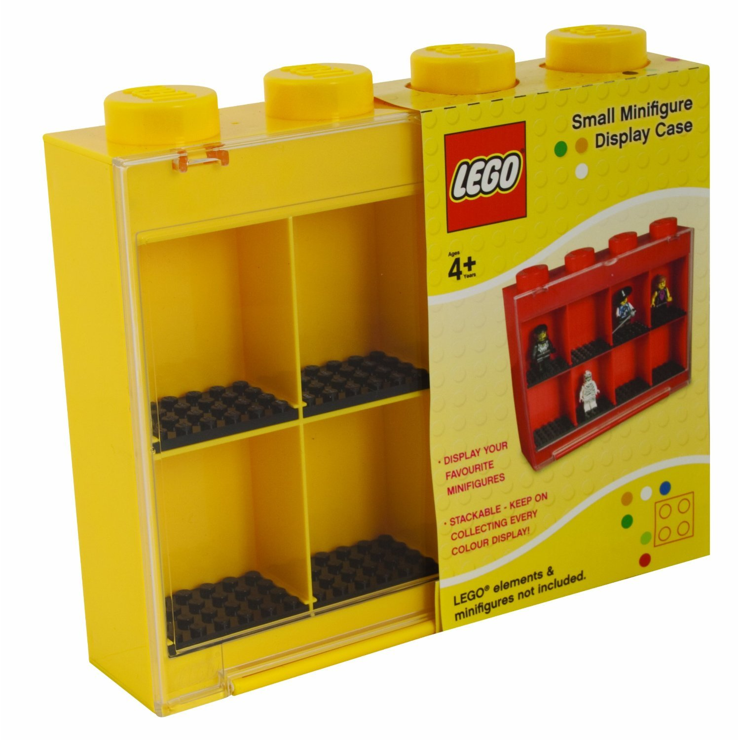 figure display case childrens bedroom storage toys for mini figures