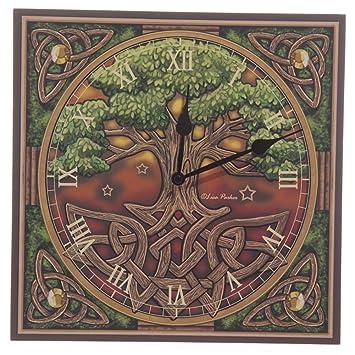 Reloj de pared Árbol de la Vida, de Lisa Parker