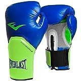 Everlast Pro Style Elite Training Boxing Gloves (Blue/Green , 12oz) (Color: Blue/Green, Tamaño: 12oz)