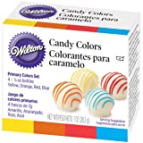 Wilton Candy Decorating Primary Colors Set, 1 oz. (Color: Multicolor, Tamaño: one size)