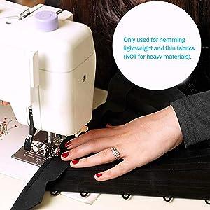 HQMaster Narrow Rolled Hem Presser Foot Sewing Machine Roll Roller ...