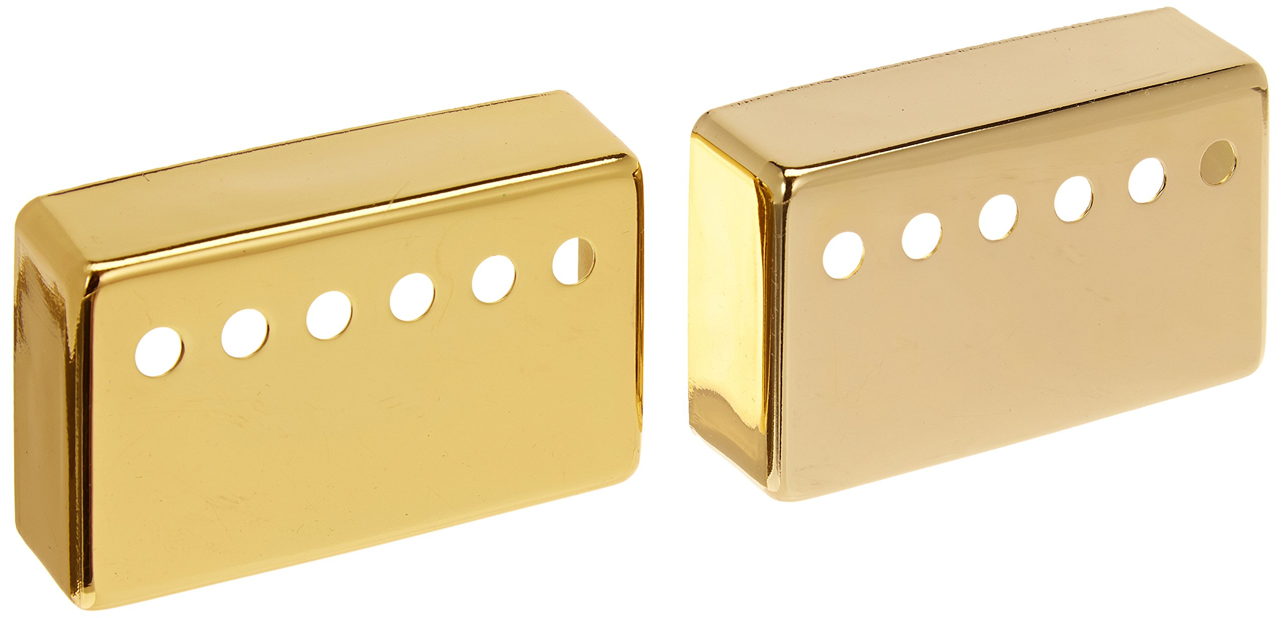 1-Set(2Pcs) Humbucker Neck & Bridge Guitar Pickup Covers Gold High Quality 2