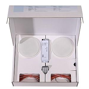 WHD 106005031000100 Radio HLS 51 Basic Set UP 108, weiß  BaumarktKundenbewertung und Beschreibung