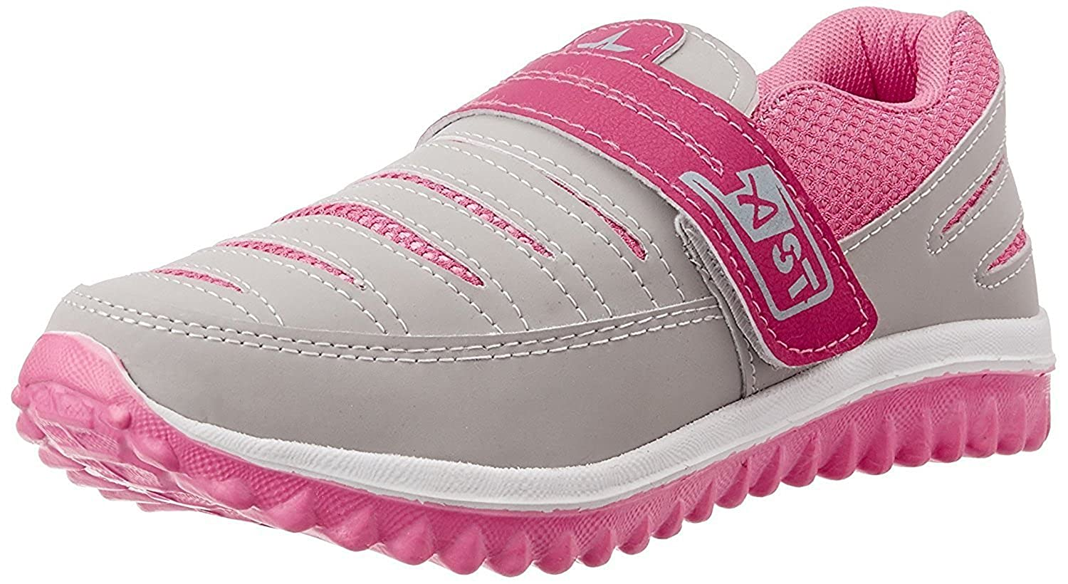 SHOES T20 Women's Grey & Pink Running Shoes(5)