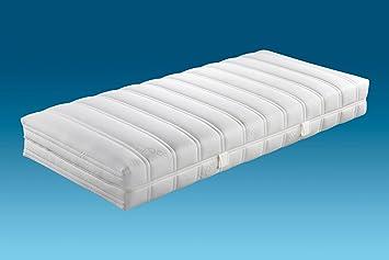 Hn8-Schlafsysteme 'Duo Komfort' 7-Zonen-Tonnen-Taschenfederkernmatratze, H3, Größen Matratzen:120 x 220 cm