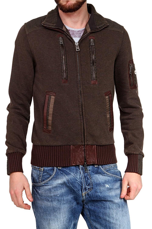 Aeronautica Militare Herren Blouson-Jacke , Farbe: Dunkelbraun1 günstig kaufen