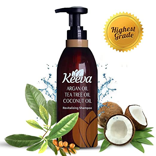 Keeva 3 in 1 Tea Tree Oil Shampoo for men and women