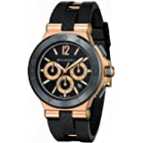 New Mens Bvlgari Diagono 18K Rose Gold Automatic Chronograph Watch DGP42BGCVDCH