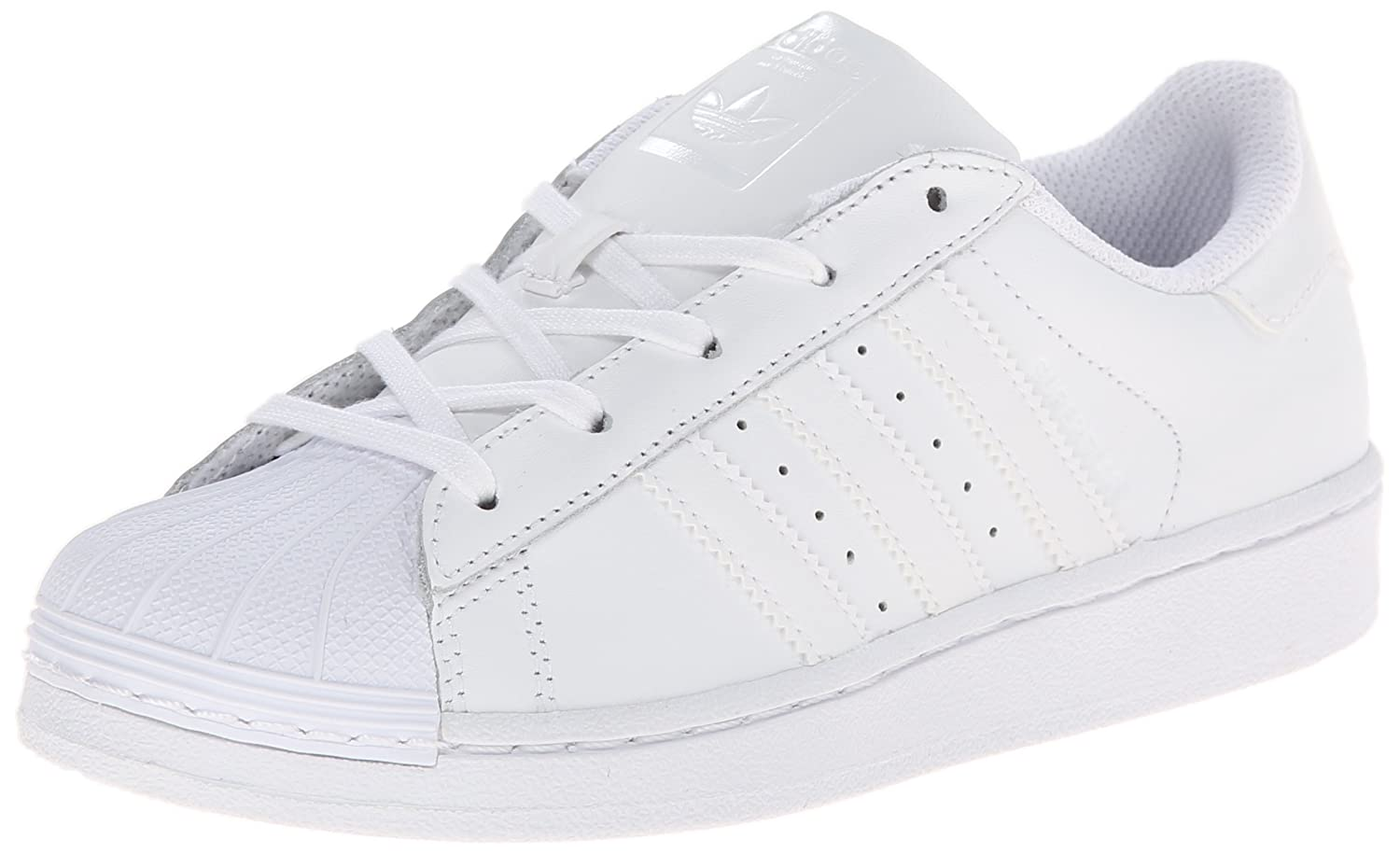 adidas Originals Superstar Foundation C Shoe (Little Kid) adidas x pharrell little kids superstar supercolor
