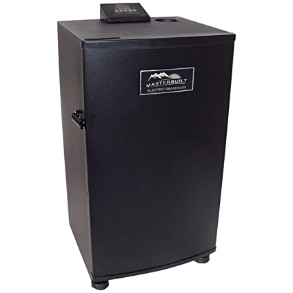 Masterbuilt 20070910 30-Inch Black Electric Digital Smoker, Top