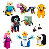 LEGO Ideas Adventure Time (21308) - Building Toy and Popular Gift for Fans of LEGO Sets and Cartoon Network (495 Pieces)