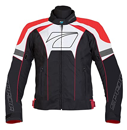 Spada moto Textile veste Burnout Blk/Red/White