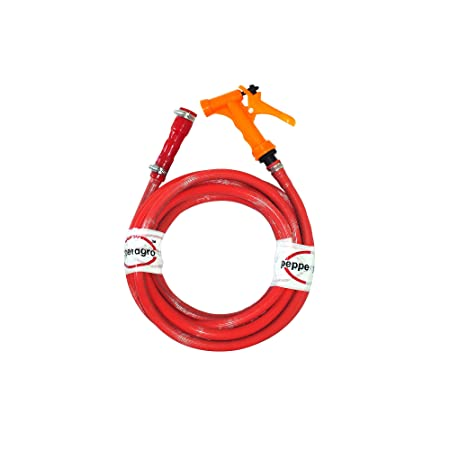Pepper Agro GHG1042 3m Water Spray Gun  Red  available at Amazon for Rs.268