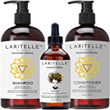 Laritelle Organic Hair Growth Set Diamond Strong (Tamaño: Shampoo+Conditioner+Treatment)