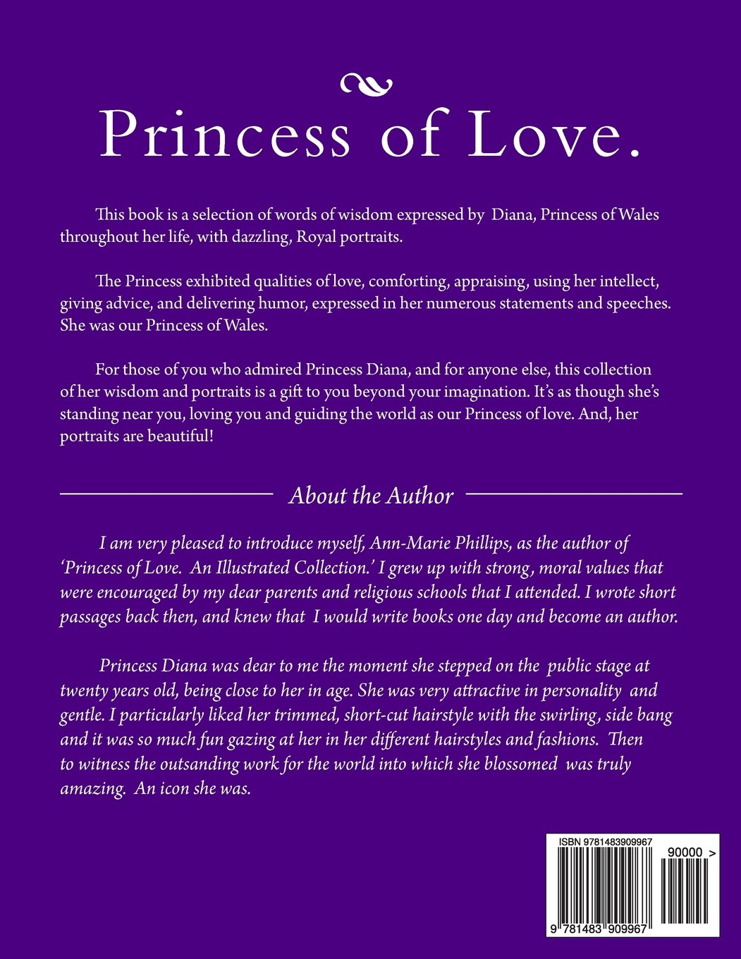 Princess of Love.: An Illustrated Collection. (Illustrated History of Diana, Princess od Wales) (Volume 3) Ann-Marie Phillips