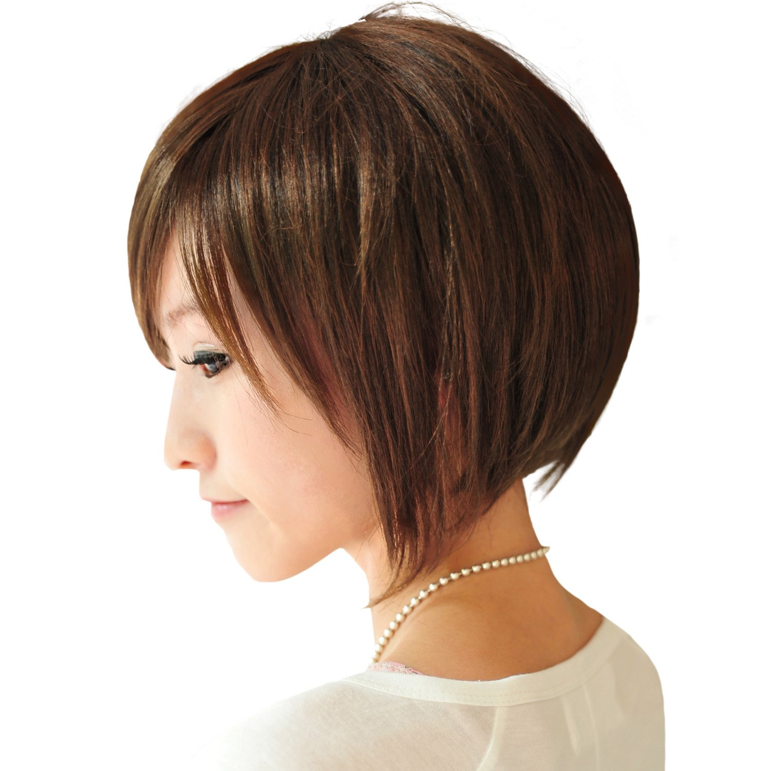 Short Angled Bob Haircut