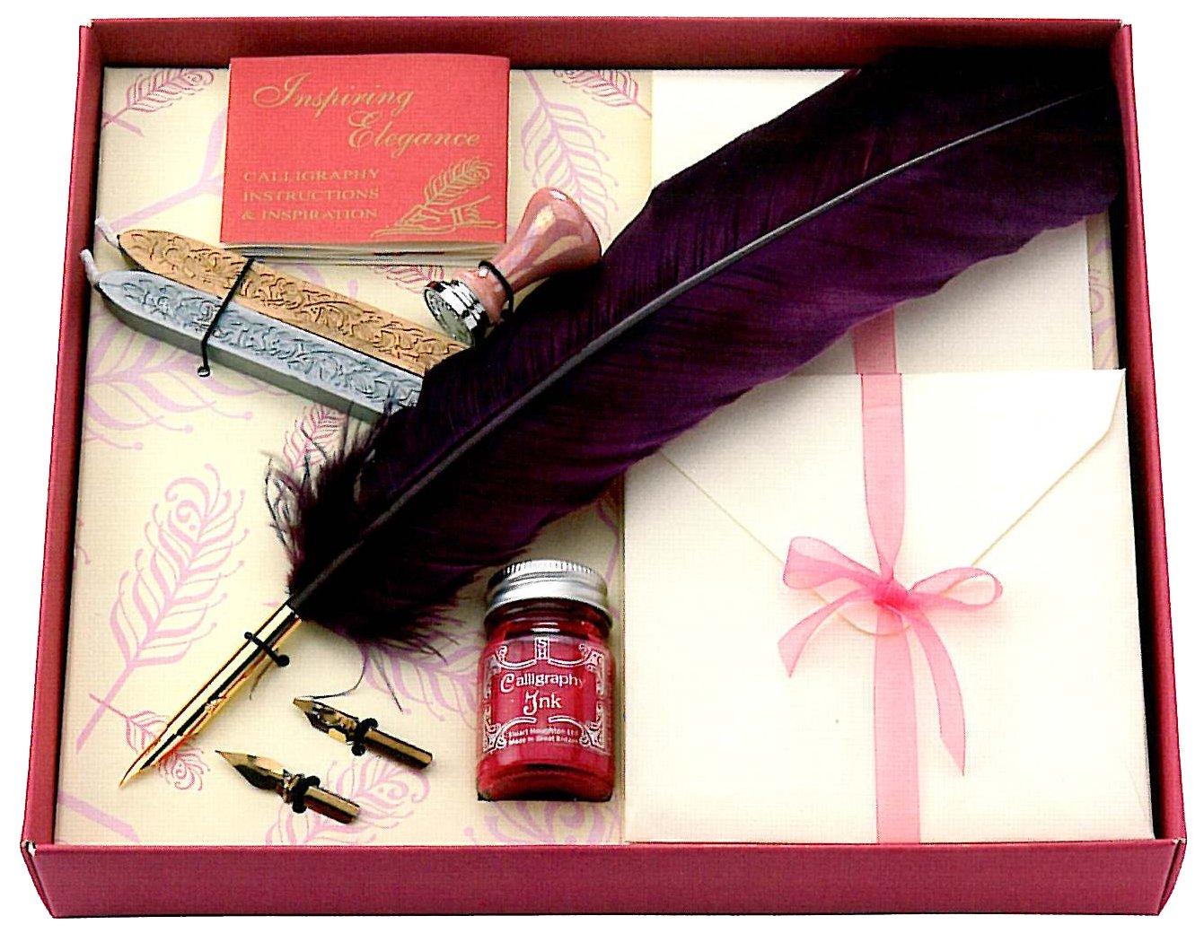 Manuscript Gift Set: Quill Correspondence chancellor manuscript the