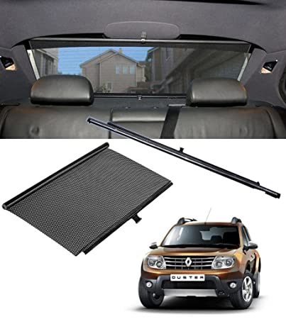 Auto Pearl Retractable Car Vehicle Rear Curtain Window Roller Sun Shade Blind Protector 90cm