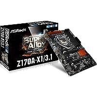 ASRock LGA 1151 Intel Z170 SATA 6Gb/s ATX Intel Motherboard