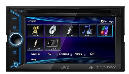 JVC KW-V10E Autoradio USB Noir