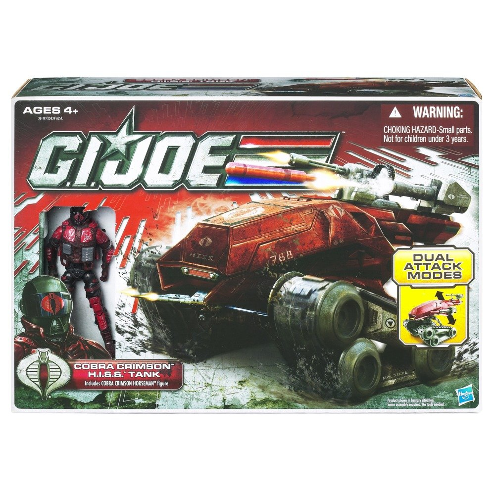 G.I. Joe 30th Anniversary Cobra Crimson H.I.S.S. Tank With Cobra Crimson Horseman jetzt kaufen