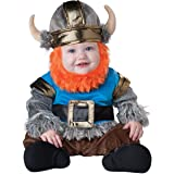 InCharacter Baby Boy's Viking Costume, Silver/Blue, Medium(12 - 18mos) by Fun World (Color: Silver/Blue, Tamaño: Medium)