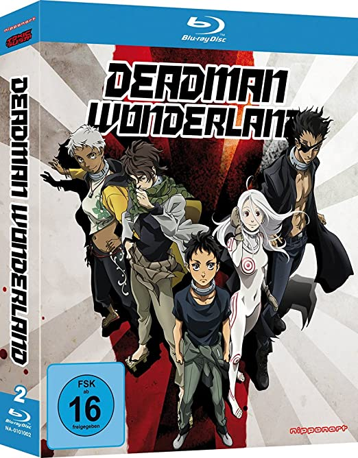 Deadman Wonderland, Blu-ray
