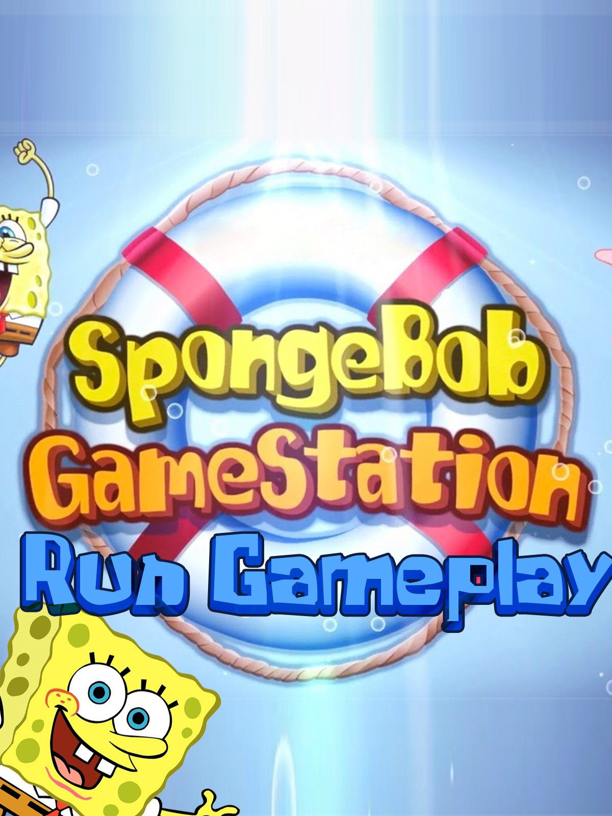 Clip: SpongeBob Game Station Run Gameplay