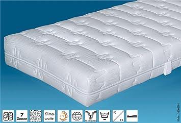 Hn8 TA Clean - 100x200 cm, 7-Zonen-TTFK Matratze, H 3 = fest