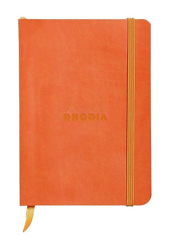 Rhodiarama Notebook Tangerine 6X8.25 Lined
