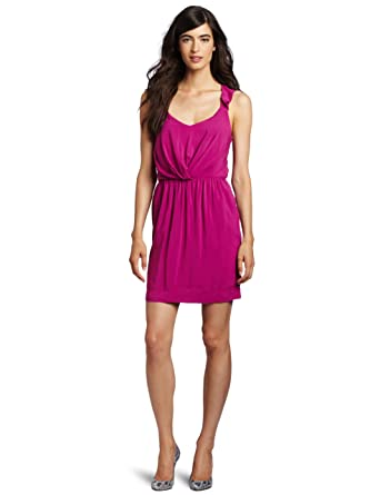 BCBGeneration Women's Ruffle Strap Dress