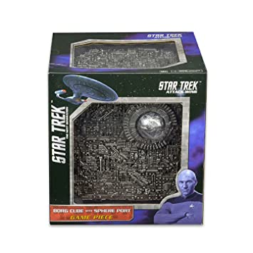 Star Trek: Attack Wing - Borg Cube with Sphere Port Premium Figure - English