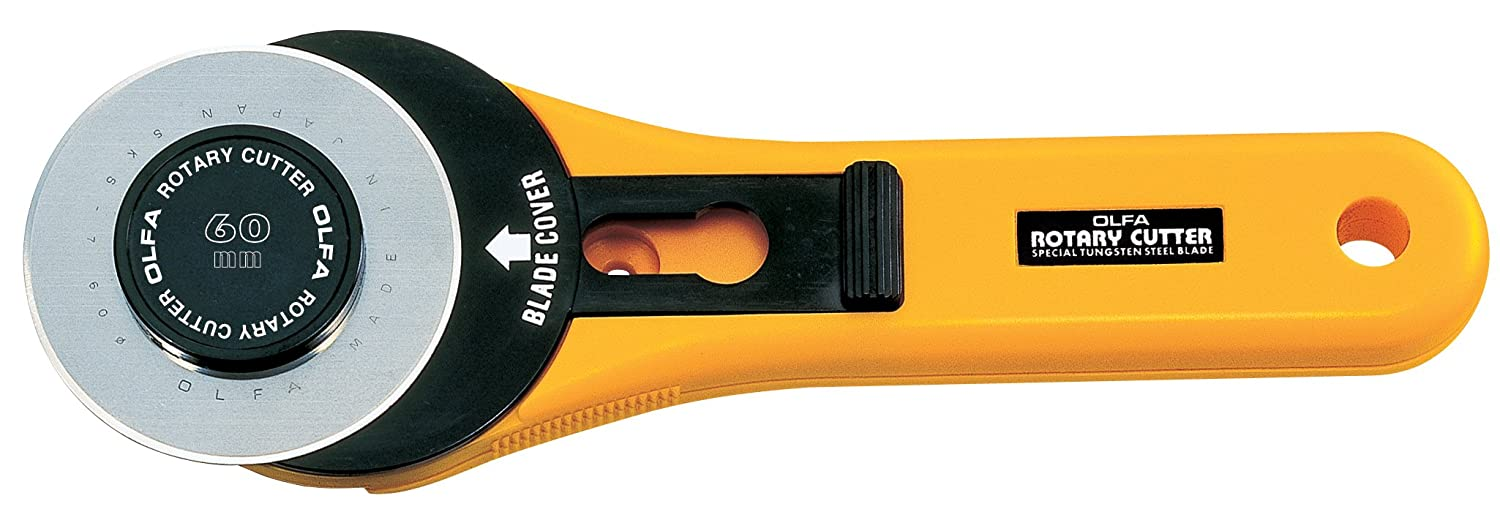 OLFA 9653 RTY-3/G 60mm Straight Handle Rotary Cutter