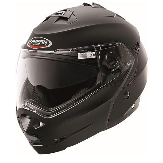 Caberg duke 30860017 à visière de moto noir mat