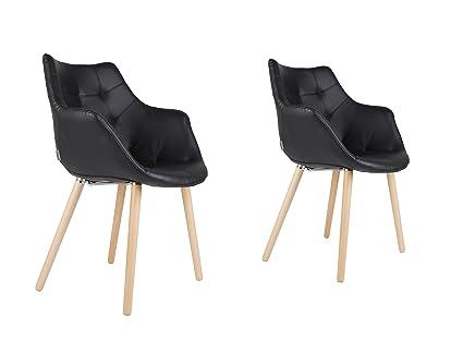Zuiver - Sofá, negro, 60x60x82 cm