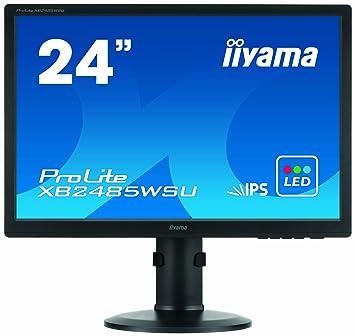 Iiyama XB2485WSU-B1 Ecran PC sans tuner LED 24'' 1920 x 1200 Noir 5ms