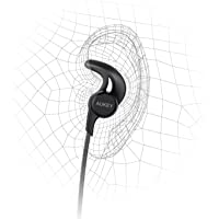 AUKEY Magnetic Bluetooth Headphones with 3 EQ Sound Modes & Sweat-Resistant Design
