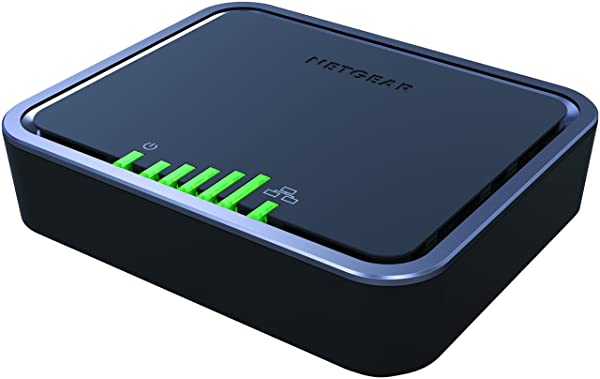 NETGEAR 4G LTE Modem with Two Gigabit Ethernet Ports – Instant Broadband Connection | Works with AT&T and Alternate Carriers (LB2120)