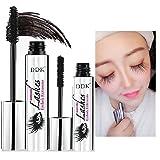 RWM DDK 4D Mascara Cream, Makeup Lash, Cold Waterproof Mascara, Eye Black, Eyelash Extension, crazy-long Style, Warm Water Washable Mascara