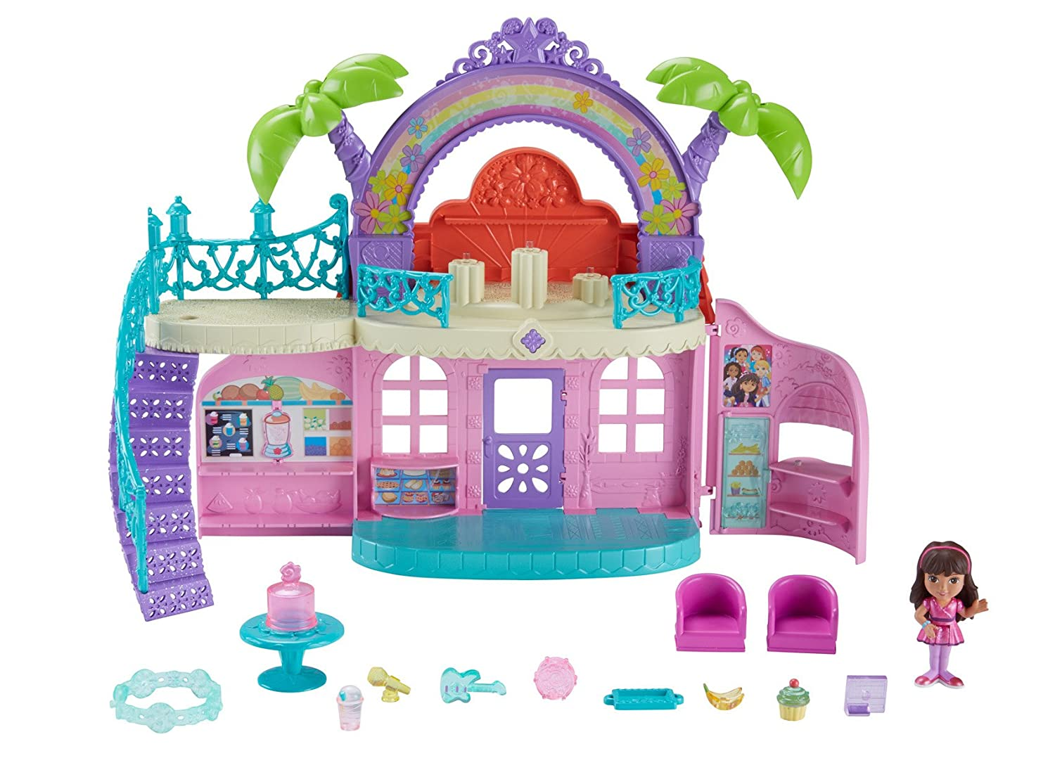Dora and Friends Cafe Playset