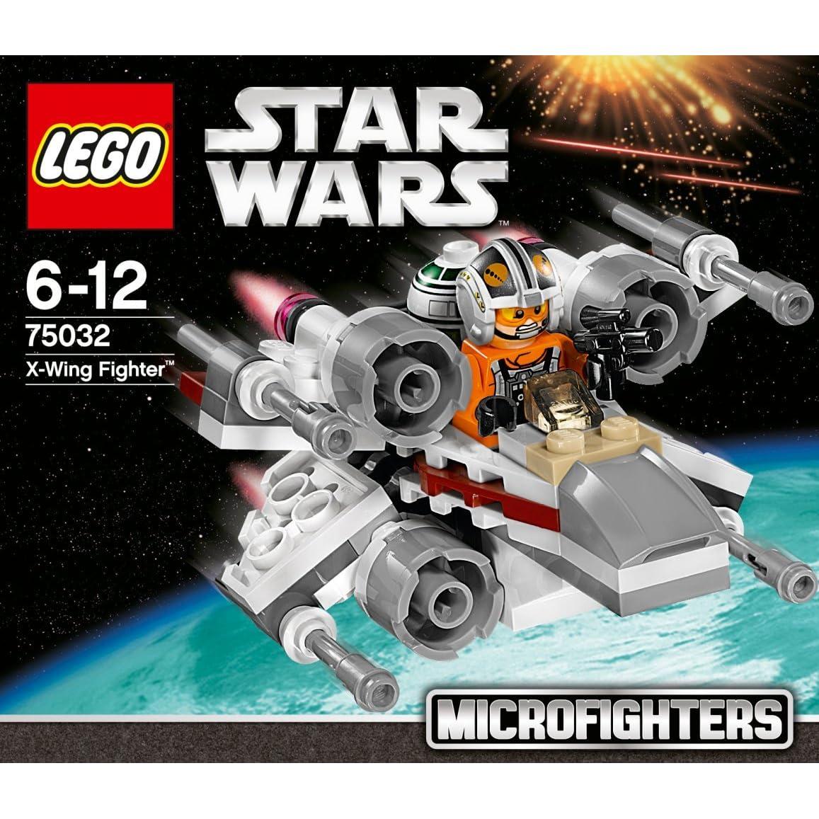 Lego Star Wars X Wing Starfighter 75218 Brand New: New LEGO Star Wars Micro Fighter X-wing Fighter 75032 From