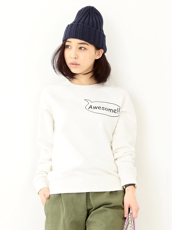 Amazon.co.jp: (ビームスボーイ) BEAMS BOY / プリント スウェット クルーネック 13130089654 ホワイト ONE SIZE: 服&ファッション小物