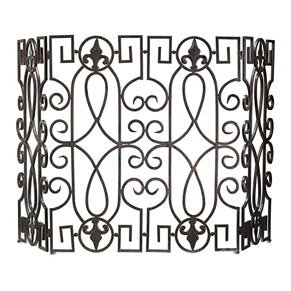 Wrought Iron Fire Screens