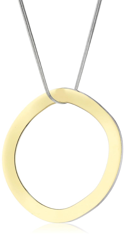 Calvin Klein Damen-Halskette Edelstahl ck undulate Kettenlänge: 80 cm KJ1AJP200200