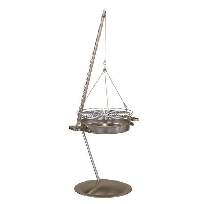 SCHWENKGRILL 150 cm Höhenverstellbar Edelstahl Steellife by günstig
